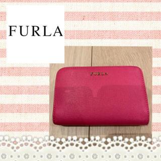 フルラ(Furla)のFURLA♡ピンク二つ折り財布 中財布(財布)