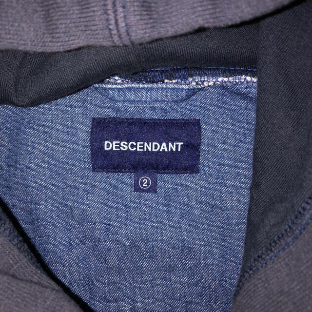 W)taps(ダブルタップス)のディセンダント フードデニムシャツ DESCENDANT メンズのトップス(シャツ)の商品写真