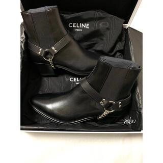 celine - 新品【 CELINE セリーヌ 】カマルグ バイカー チェルシーブーツ 43
