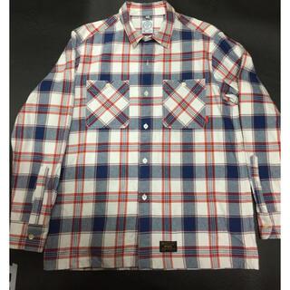 ダブルタップス(W)taps)のwtaps ネルシャツ 美品 XL 正規購入 本物(シャツ)