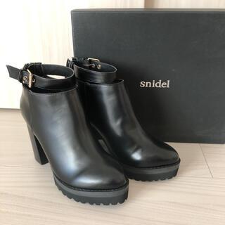 snidel - スナイデル♡アンクルベルトショートブーツ♡23センチ