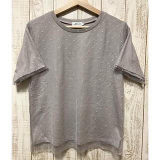 LEPSIM - 【美品】LEPSIMのドットチュールTシャツ