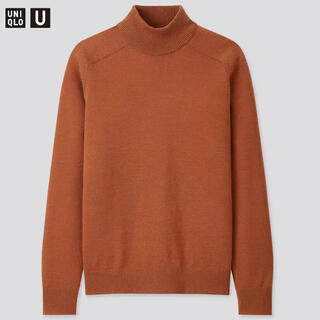 UNIQLO - 今期完売★ UNIQLO U メリノブレンドモックネックセーター