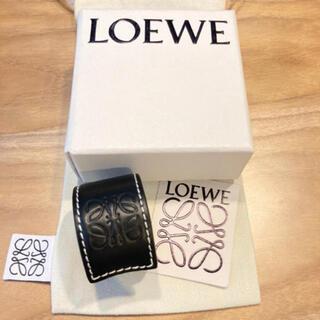 ロエベ(LOEWE)の新品未使用 LOEWE ロエベ ブラック(ブレスレット/バングル)