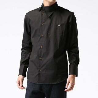 Vivienne Westwood - Vivienne Westwood アシンメトリー シャツ 黒