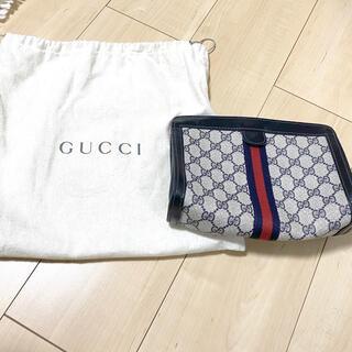 Gucci - オールドグッチ・クラッチバッグ・シェリーライン