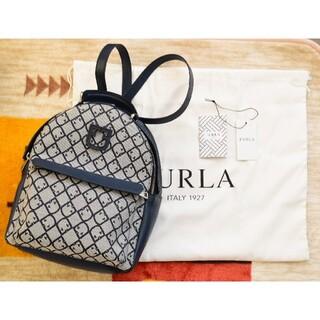 フルラ(Furla)の【正規品】FURLA フルラ リュック 柔らかい革製品 専用袋付 イタリア製 リ(リュック/バックパック)
