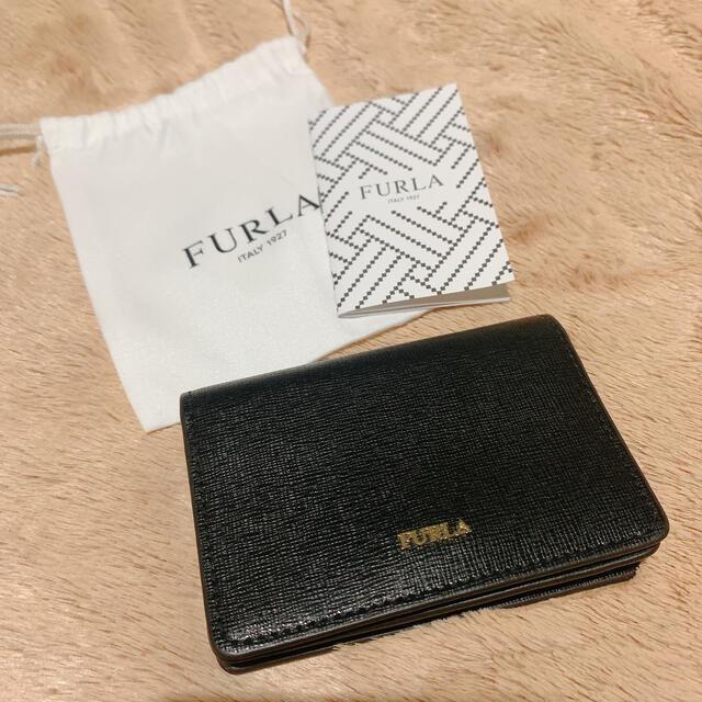 Furla(フルラ)の【美品】FURLA カードケース 名刺入れ レディースのファッション小物(名刺入れ/定期入れ)の商品写真