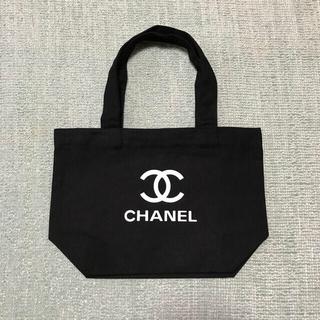CHANEL - ノベルティ ミニトートバッグ ブラック シャネル