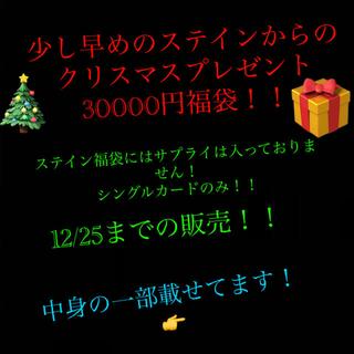 遊戯王 - 🎄ステインの少し早めのクリスマス福袋🎄 30,000円福袋!!