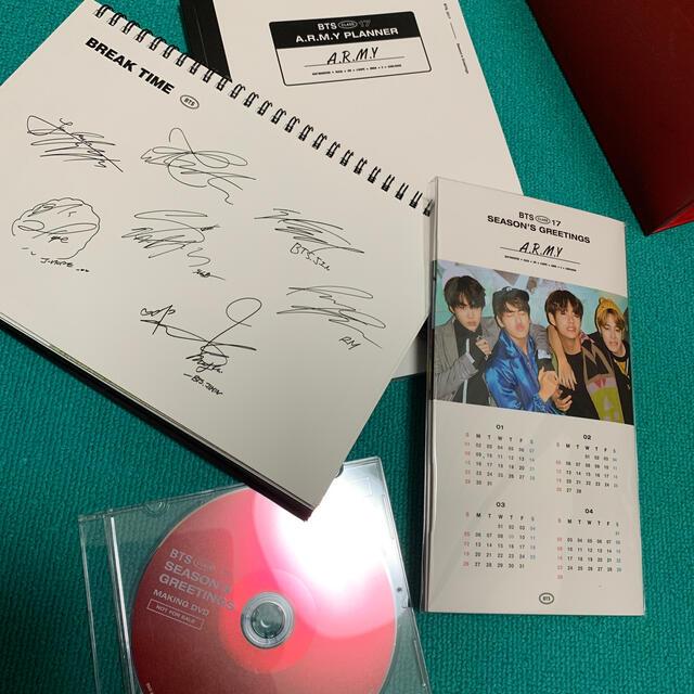 2017 BTS SEASON'S GREETINGS エンタメ/ホビーのCD(K-POP/アジア)の商品写真