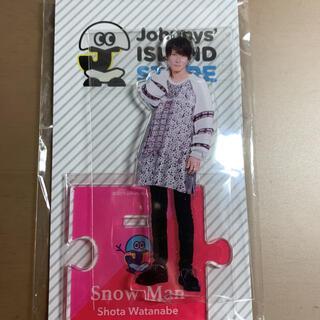 Johnny's - SnowMan 渡辺翔太 アクリルスタンド ISLANDストア 第1弾