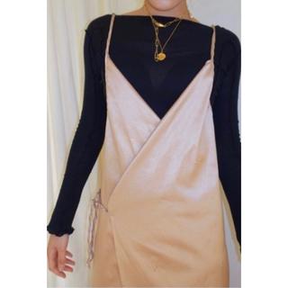 トゥモローランド(TOMORROWLAND)のbaserange apron dress(ひざ丈ワンピース)