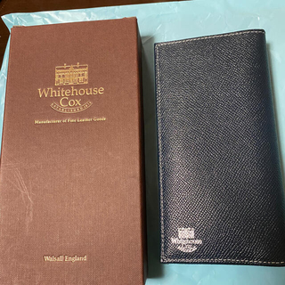 ホワイトハウスコックス(WHITEHOUSE COX)の美品!ホワイトハウスコックス長財布!本日で販売終了(長財布)