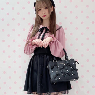 Ank Rouge - Ank Rouge☆最新☆新品☆完売☆フリルブラウス☆ピンク☆