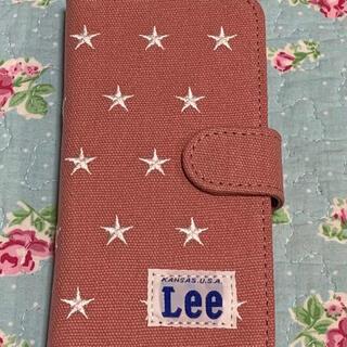 リー(Lee)のまるちゃん様専用☆週末値下 LEE iPhone X 手帳型スマホケース ピンク(iPhoneケース)