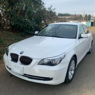 BMW - BMW 530i E60 車検令和4年11月 ホワイト