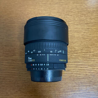 SIGMA - 【美品・作例あり】SIGMA 15mm F2.8 FISHEYE