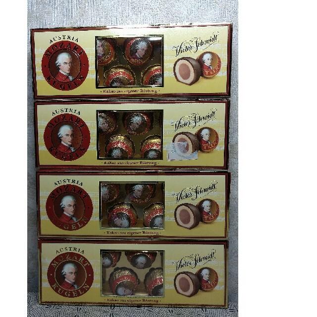 【格安❗】オーストリアマナー社製モーツァルトチョコレート132g8粒×4箱 食品/飲料/酒の食品(菓子/デザート)の商品写真