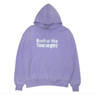 シュプリーム(Supreme)のBoTT /Spray Pullover Hood(purple)(パーカー)