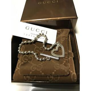 Gucci - GUCCI ボール チェーン ブレスレット ハート
