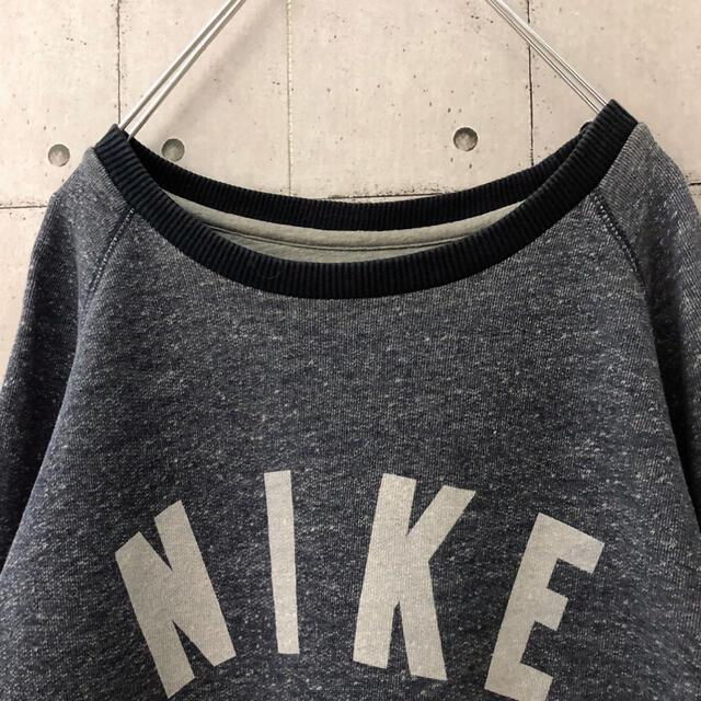 NIKE(ナイキ)の【激レア】NIKE ナイキ 染み込みプリント スウェット トレーナー メンズのトップス(スウェット)の商品写真