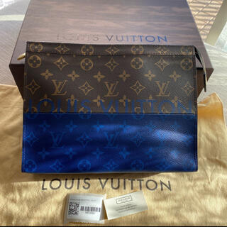 LOUIS VUITTON - 正規品 ルイヴィトン ポシェット ヴォワヤージュMM クラッチバッグ