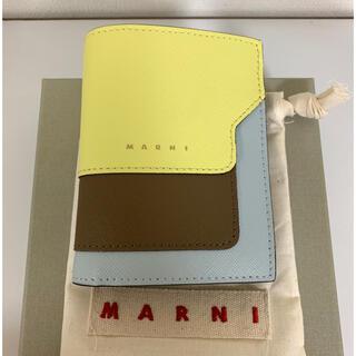 マルニ(Marni)のMARNI マルニ スモール 財布 2つ折り ミニ財布 レアカラー(財布)