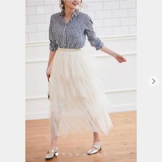 トッコ(tocco)の【新品】トッコ 360度ふんわり美人になれる チュール ティアード スカート(ロングスカート)