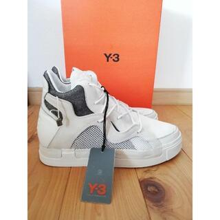 Y-3 - 新品未使用 Y-3 ワイスリー ヨウジヤマモト スニーカー ホワイト