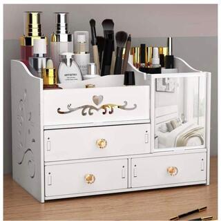 化粧品収納ボックス メイクボックス コスメボックス アクセサリー ケース(メイクボックス)