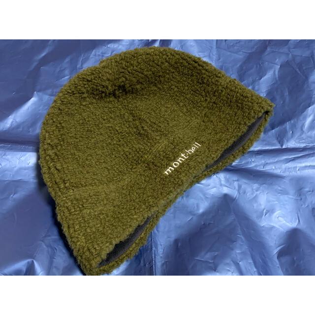 mont bell(モンベル)のmont-bell クリマパイル イヤーウォームキャップ M/L カーキー メンズの帽子(ニット帽/ビーニー)の商品写真