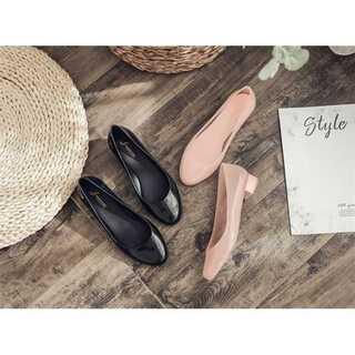 可愛い パンプス 減齢 シンプル ゴム靴 オシャレ ファッション 滑り止め(ハイヒール/パンプス)