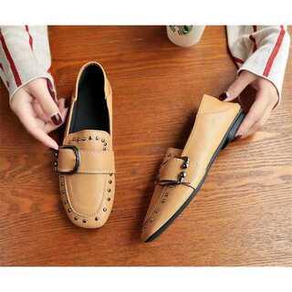 履きやすくて可愛い/CHIC気質/おしゃれな/モカシン/フラット(ローファー/革靴)