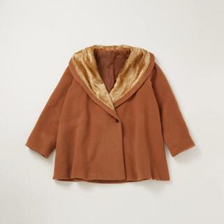 ロキエ(Lochie)のpapier open collar coat(ロングコート)