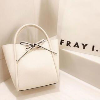FRAY I.D - リボンミドルバッグ