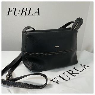 Furla - ☆美品☆フルラ FURLA  ショルダーバッグ  レザー  ステッチ 保存袋付き