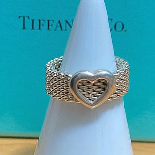 Tiffany & Co. - tiffanyサマセットハートリング 13号