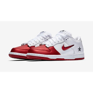 Supreme - 【27cm】 Supreme x Nike SB Dunk Low White