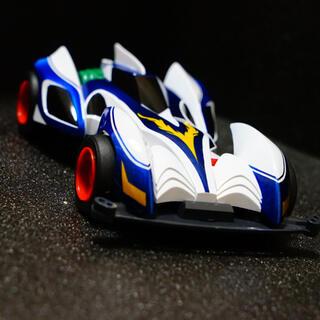 ミニ四駆 シャイニングスコーピオン 塗装完成品 サンプル(模型/プラモデル)