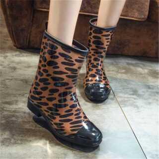 ファッション ブーツ 靴 靴 韓国 レインシューズ カジュアル(ブーツ)