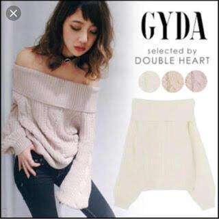GYDA - GYDA ジェイダ オフショル ニット トップス