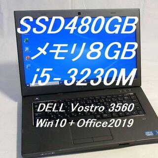 DELL - デル Vostro 3560 オフィス2019 WiFi+ブルートゥース