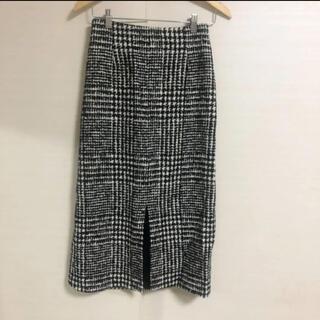 TOMORROWLAND - 新品同様美品 TOMORROWLAND  Ballseyチェック ロングスカート