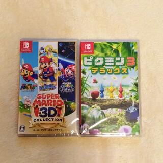 Nintendo Switch - 新品 ピクミン3 マリオ3Dコレクション switch