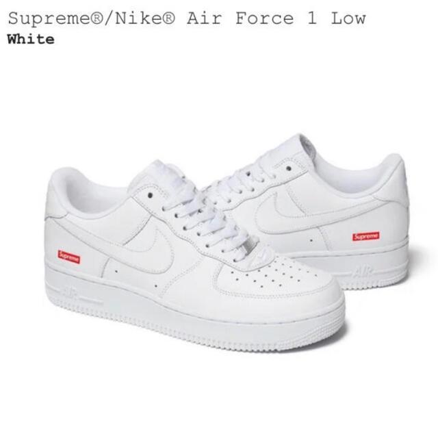 Supreme(シュプリーム)の26cm Supreme Nike Air Force 1  メンズの靴/シューズ(スニーカー)の商品写真