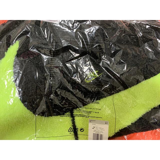 NIKE(ナイキ)の新品 NIKE ナイキ フルジップ スウッシュ ボア ジャケット  ボルト メンズのジャケット/アウター(その他)の商品写真