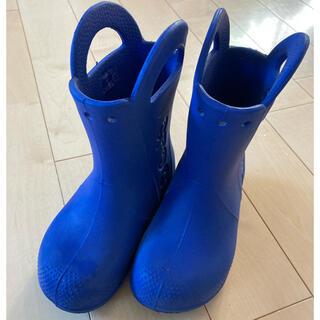 crocs - クロックス 長靴 レインブーツ c11 18cm