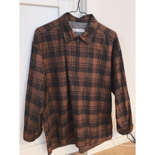 ロキエ(Lochie)のチェックシャツ(Tシャツ/カットソー(七分/長袖))