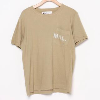 マーガレットハウエル(MARGARET HOWELL)のマーガレットハウエル ロゴ入りポケット付きTシャツ(Tシャツ(半袖/袖なし))